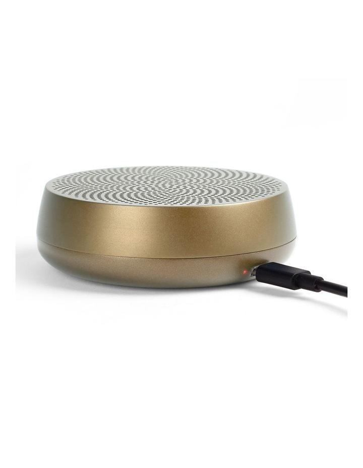 Mino L Soft Gold 5W Bluetooth Speaker image 2