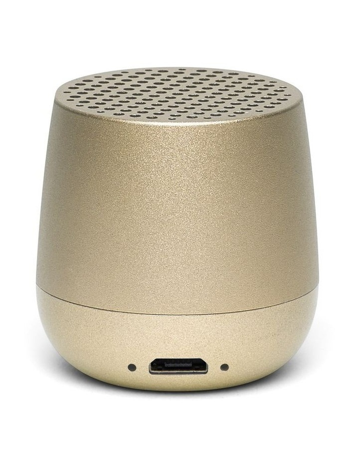 Mino Speaker Bt Soft Gold image 2