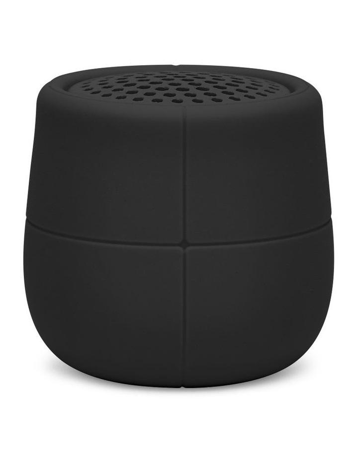 Mino X Black 3W Water Resistant Bluetooth Speaker image 1