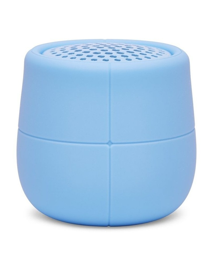 Mino X 3W Water Resistant BT Speaker -Light Blue image 1