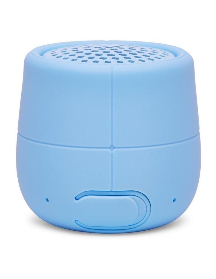 Mino X 3W Water Resistant BT Speaker -Light Blue image 2