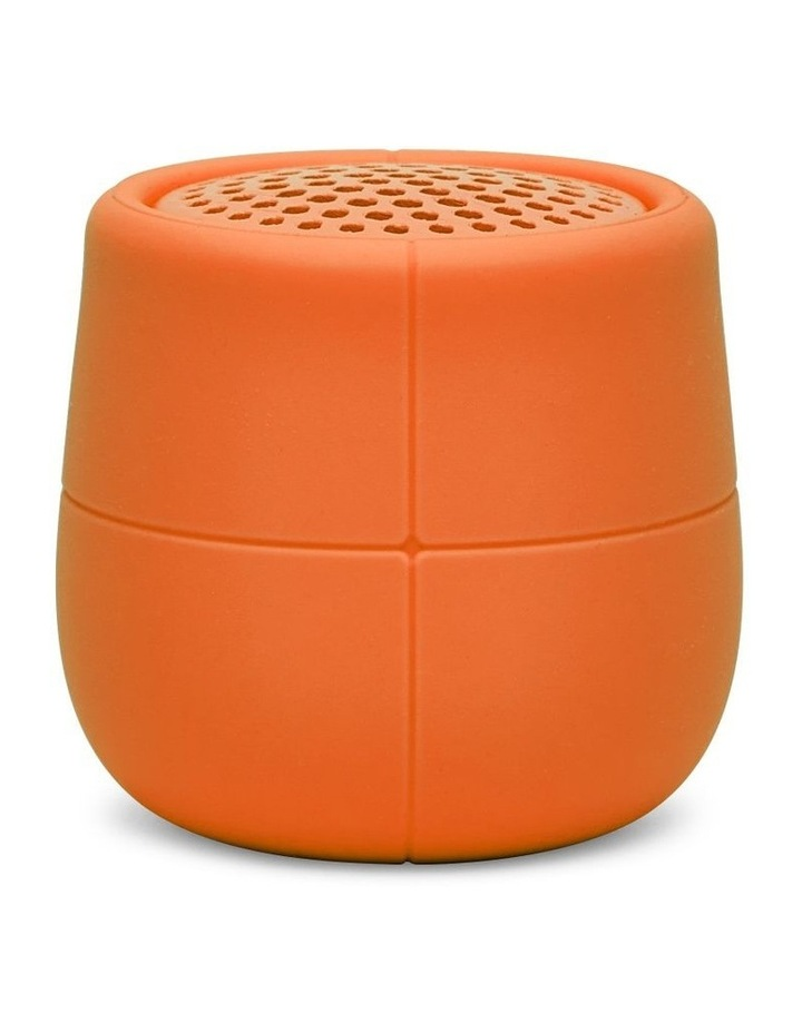 Mino X 3W Water Resistant BT Speaker- Orange image 1