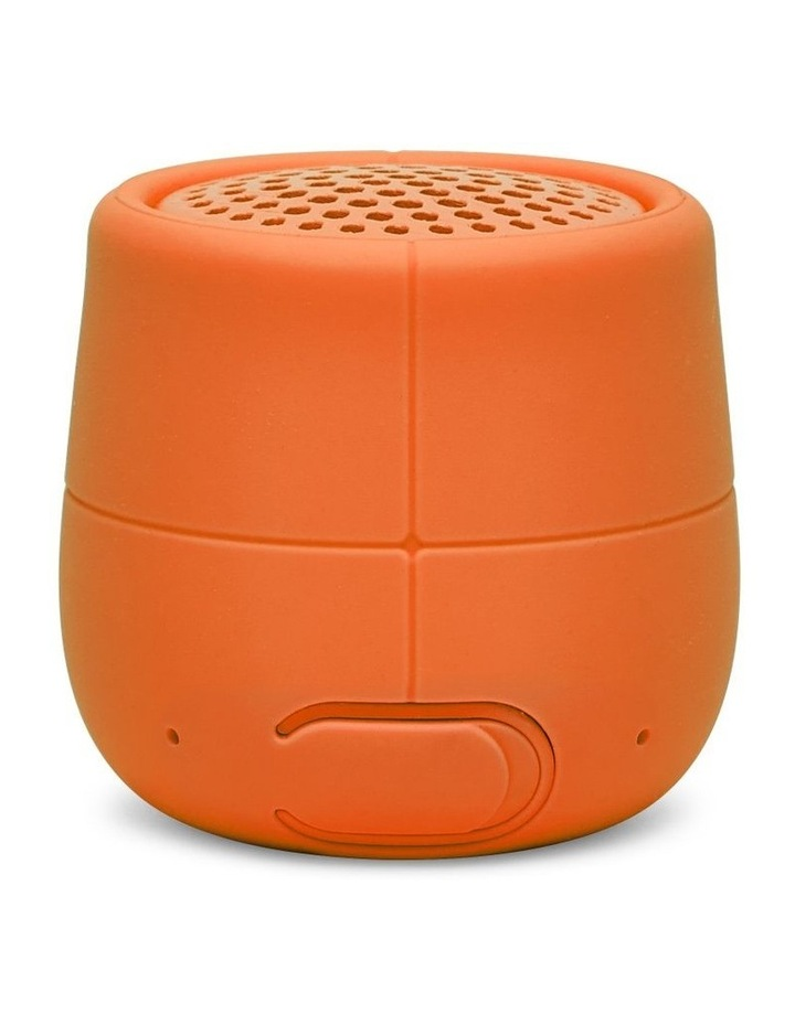 Mino X 3W Water Resistant BT Speaker- Orange image 2