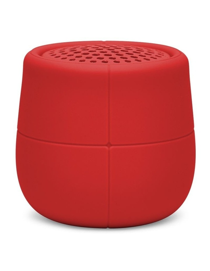 Mino X 3W Water Resistant BT Speaker- Red image 1