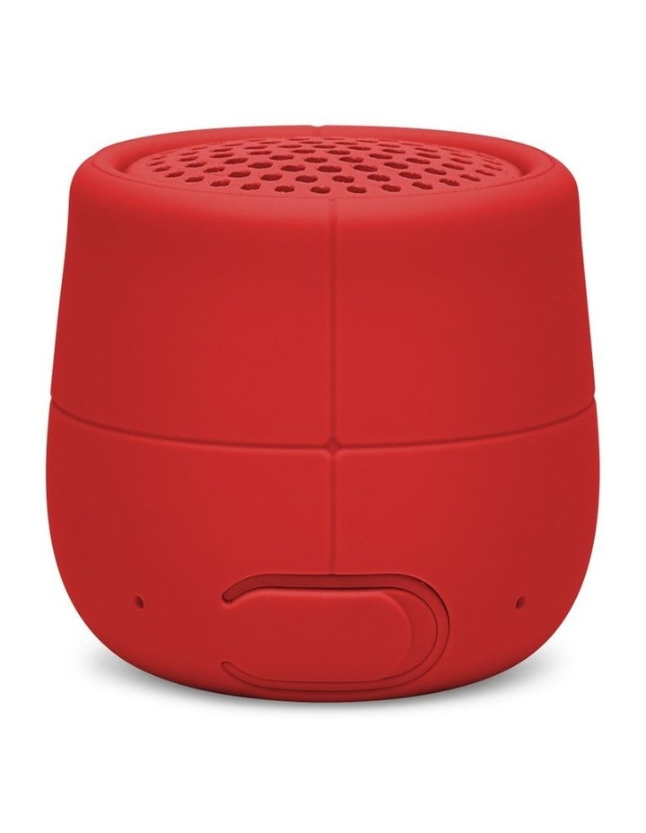 Mino X 3W Water Resistant BT Speaker- Red image 2