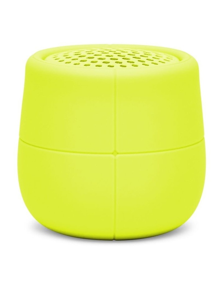 Mino X Yellow 3W Water Resistant Bluetooth Speaker image 1