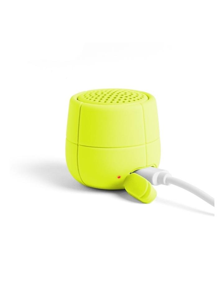 Mino X Yellow 3W Water Resistant Bluetooth Speaker image 3