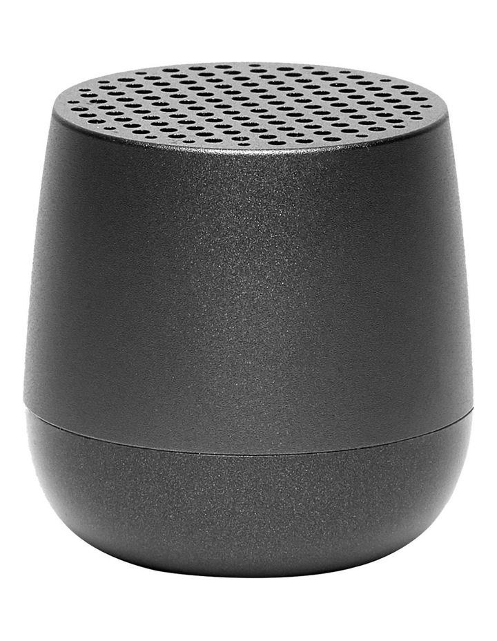 Mino   Gun Metal Bluetooth Speaker image 1