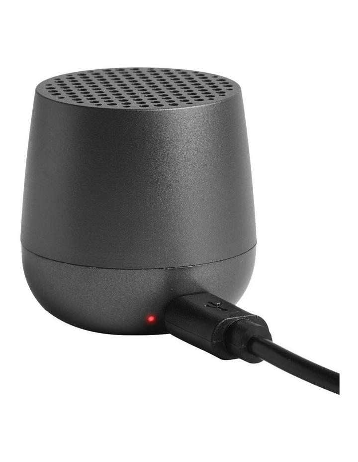 Mino   Gun Metal Bluetooth Speaker image 2