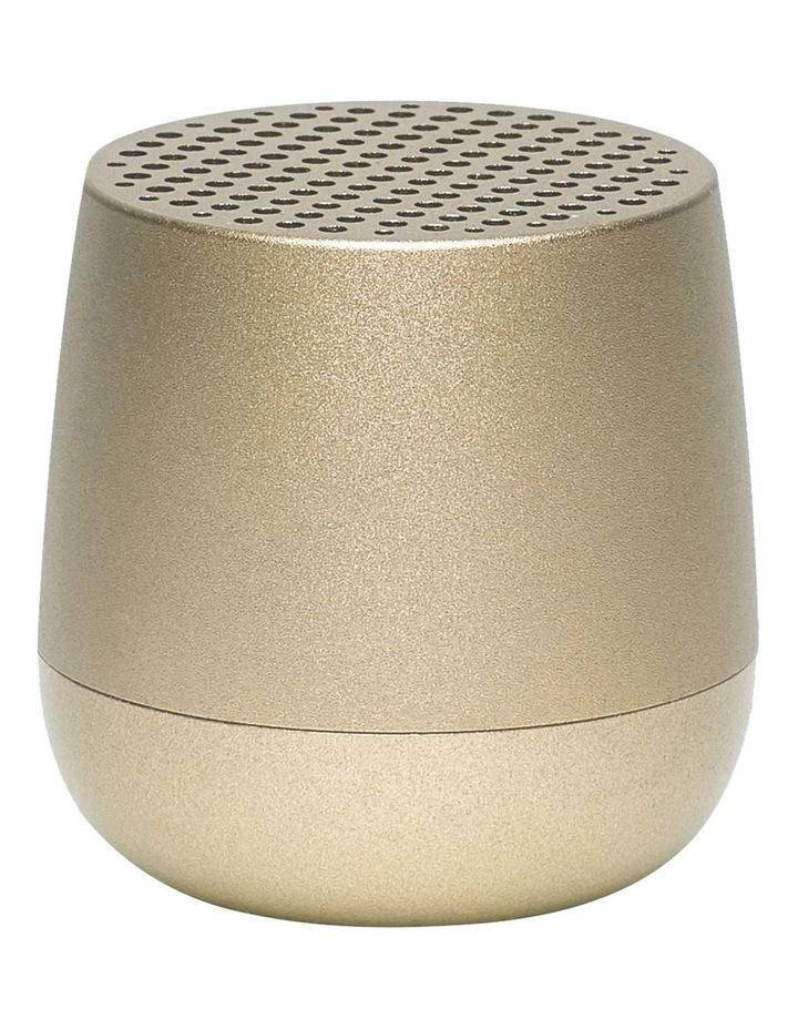 Mino   Bluetooth Speaker - Soft Gold image 1