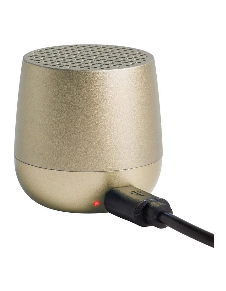 Mino   Bluetooth Speaker - Soft Gold image 2
