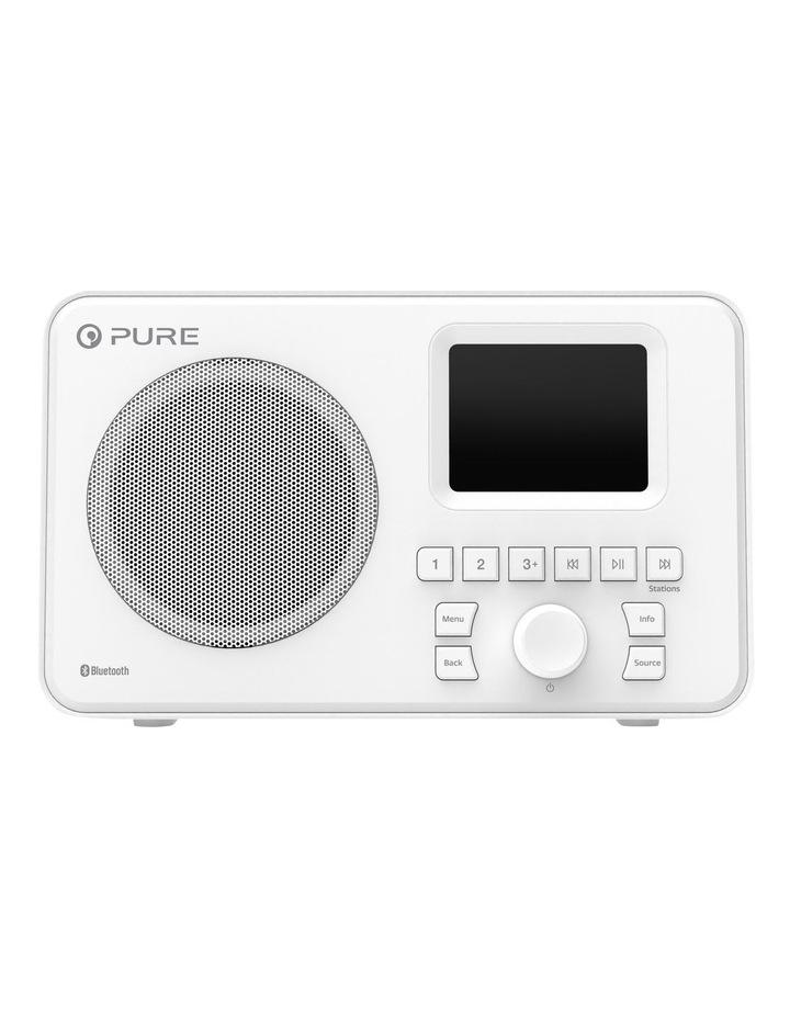 Elan One Portable DAB  Radio with Bluetooth - White image 1