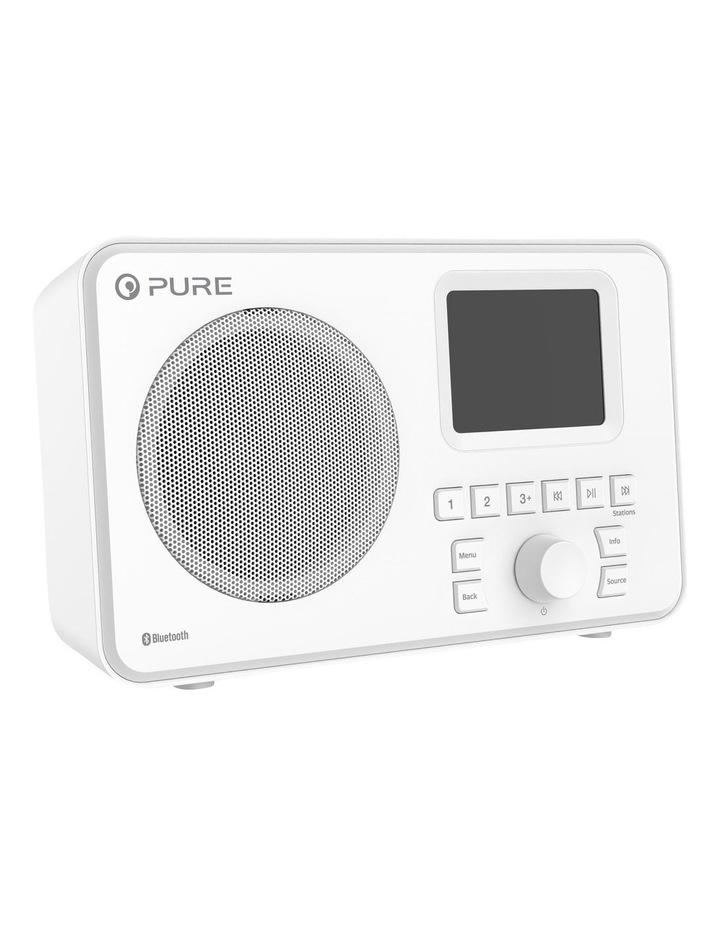 Elan One Portable DAB  Radio with Bluetooth - White image 2