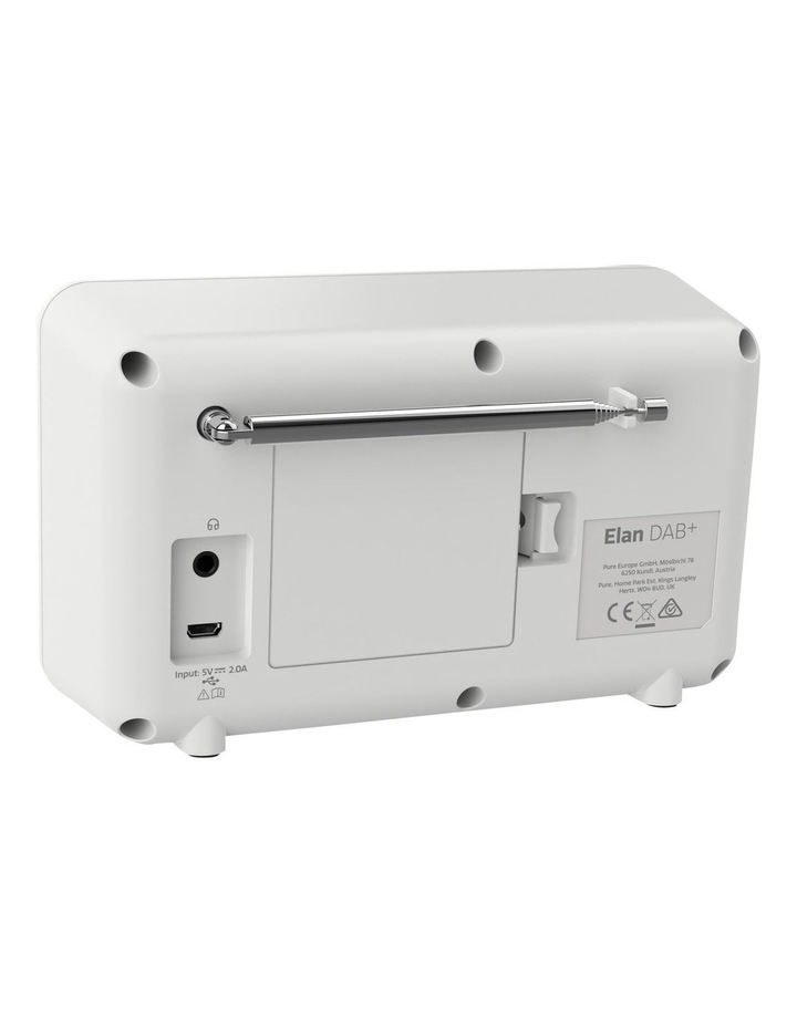Elan Portable DAB  Radio with Bluetooth - Stone Grey image 3