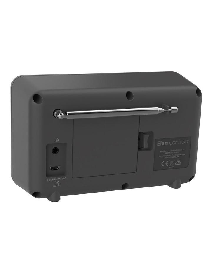 Elan Connect Portable DAB  Radio with Internet Radio & Bluetooth - Charcoal image 3