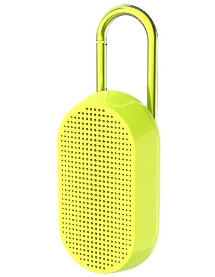 Mino T Bluetooth Speaker Yellow Fluro image 1