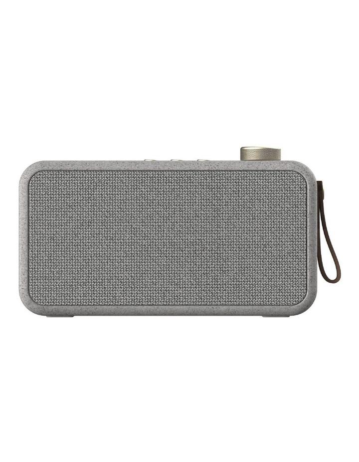 aTune Wheat Care Series Bluetooth Speaker with Radio & Alarm Clock image 1