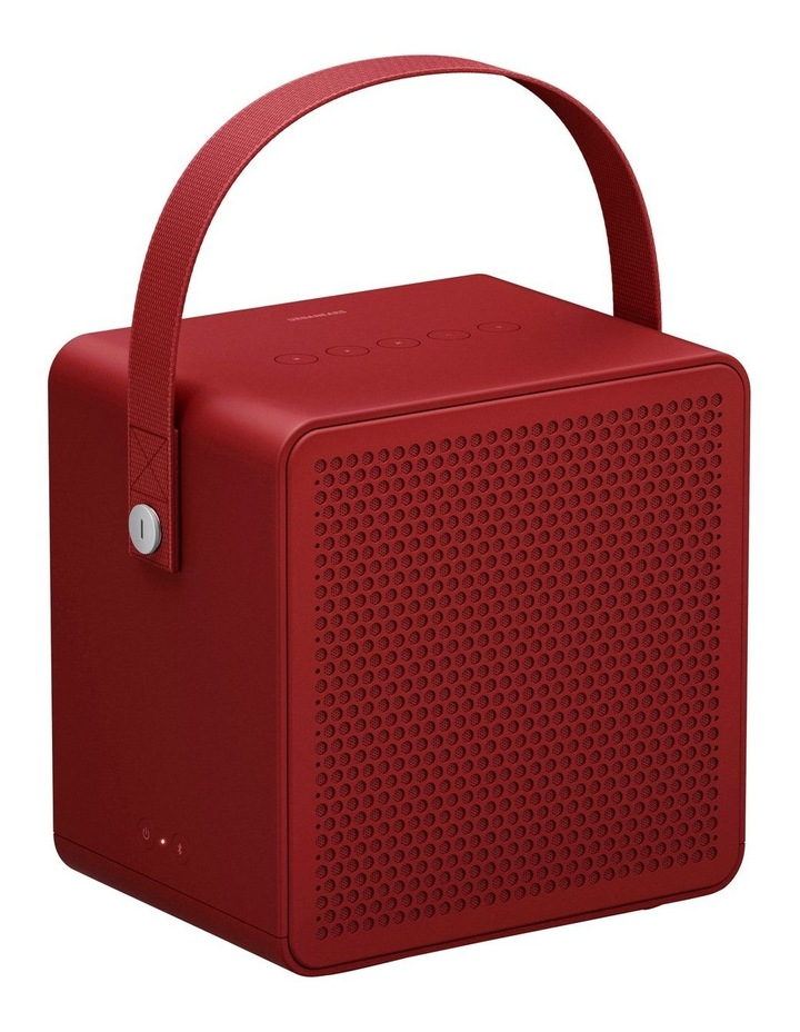 Ralis Haute Red Portable Bluetooth Speaker image 1