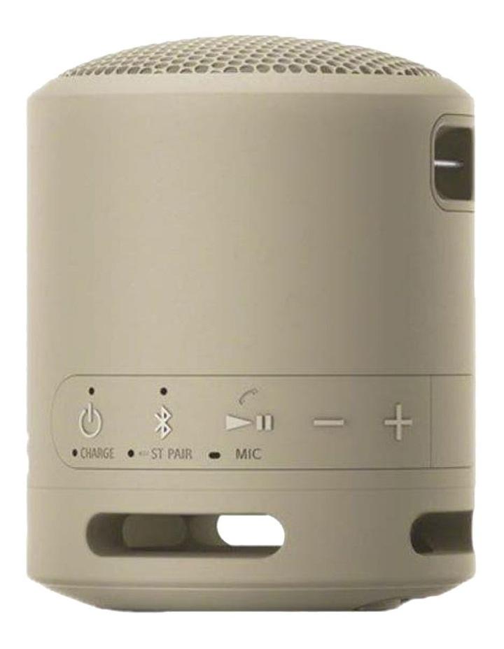 Extra Bass Wireless Speaker Taupe SRSXB13C image 2