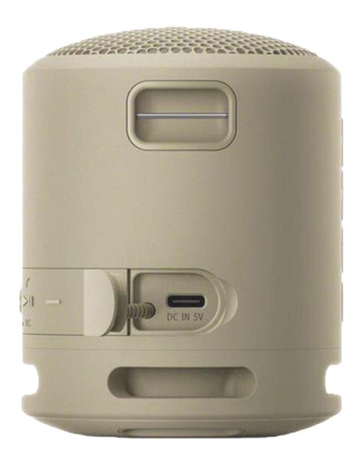 Extra Bass Wireless Speaker Taupe SRSXB13C image 3