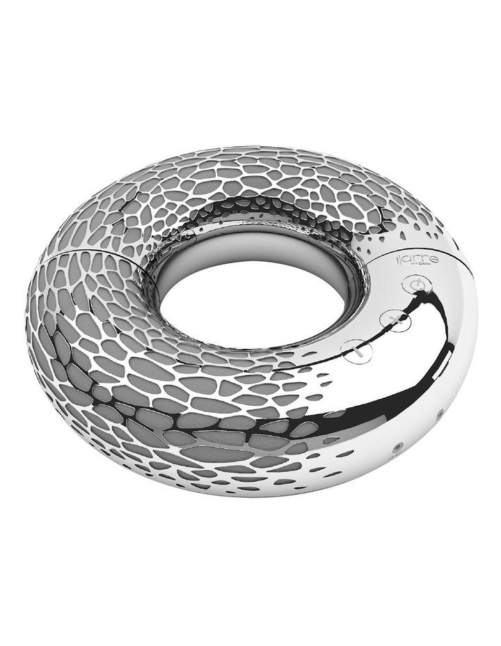 AeroTwist Rechargeable Portable Wireless Bluetooth Speaker Silver ML 90000 image 1
