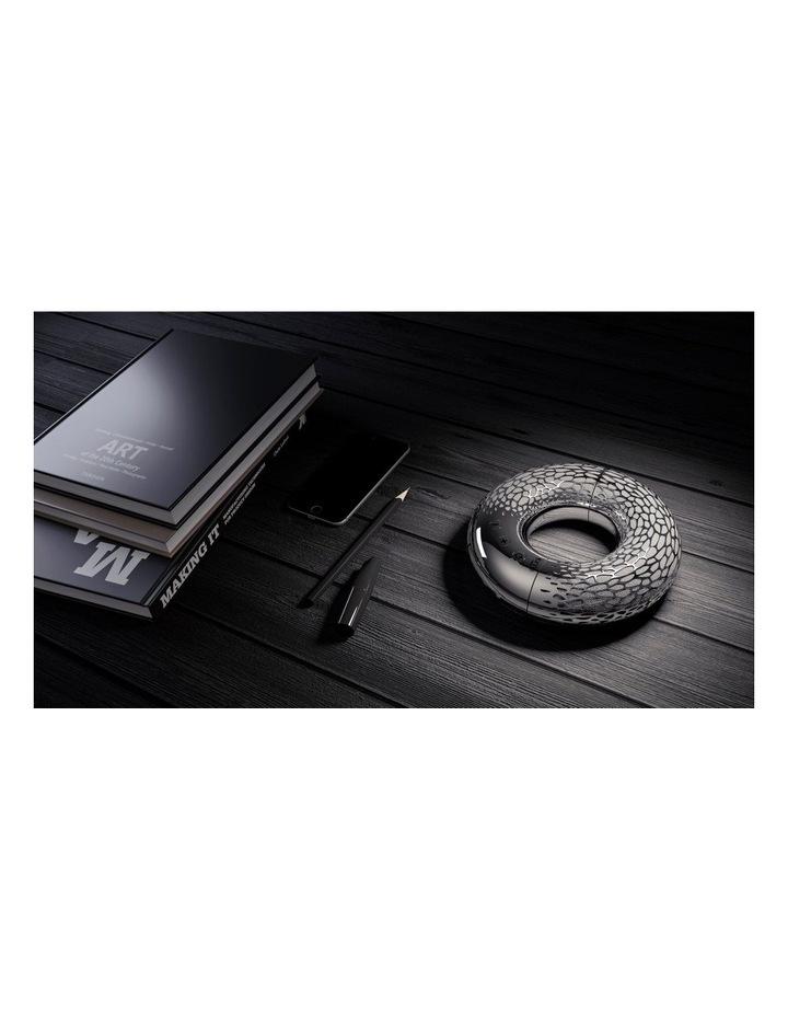 AeroTwist Rechargeable Portable Wireless Bluetooth Speaker Silver ML 90000 image 3
