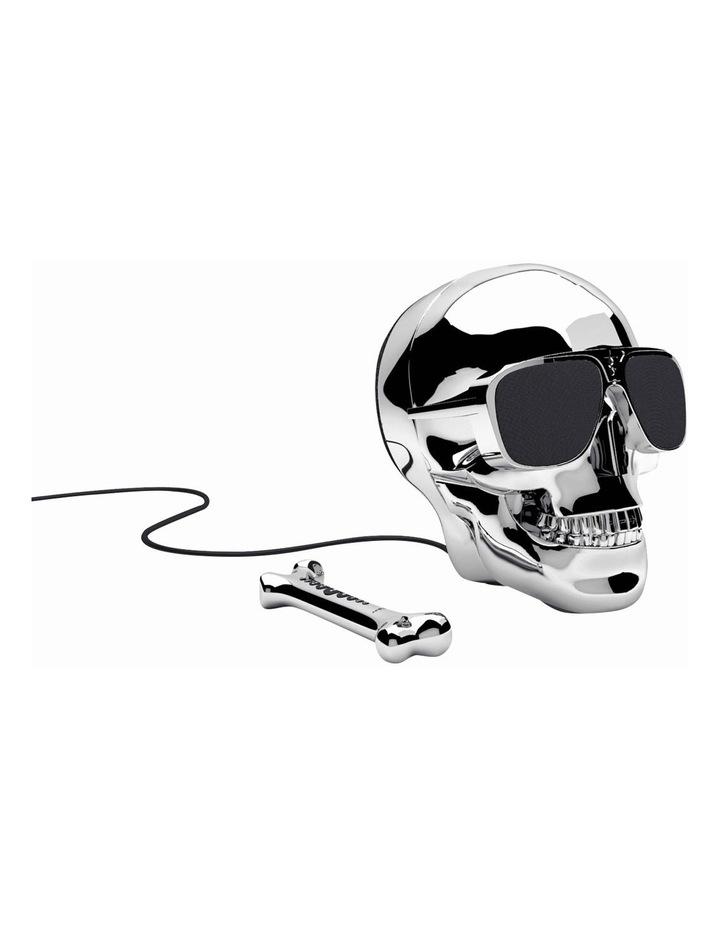 AeroSkull HD+ Portable Bluetooth Wireless Music Speaker Silver ML 81020 image 1