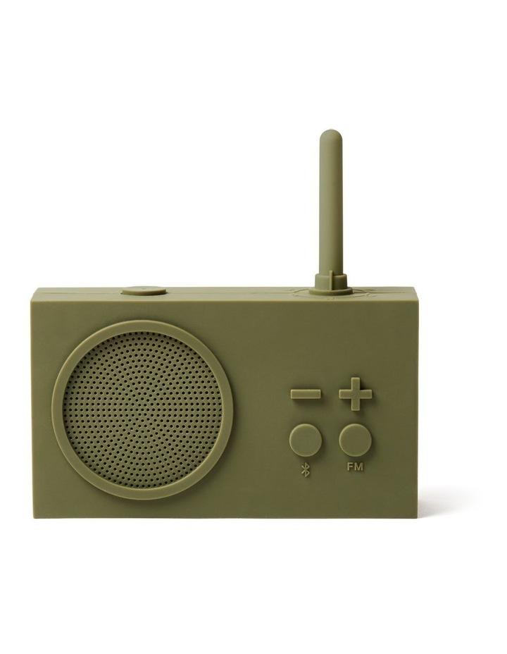 Tykho 3 Khaki FM Radio 3W Bluetooth Speaker image 1