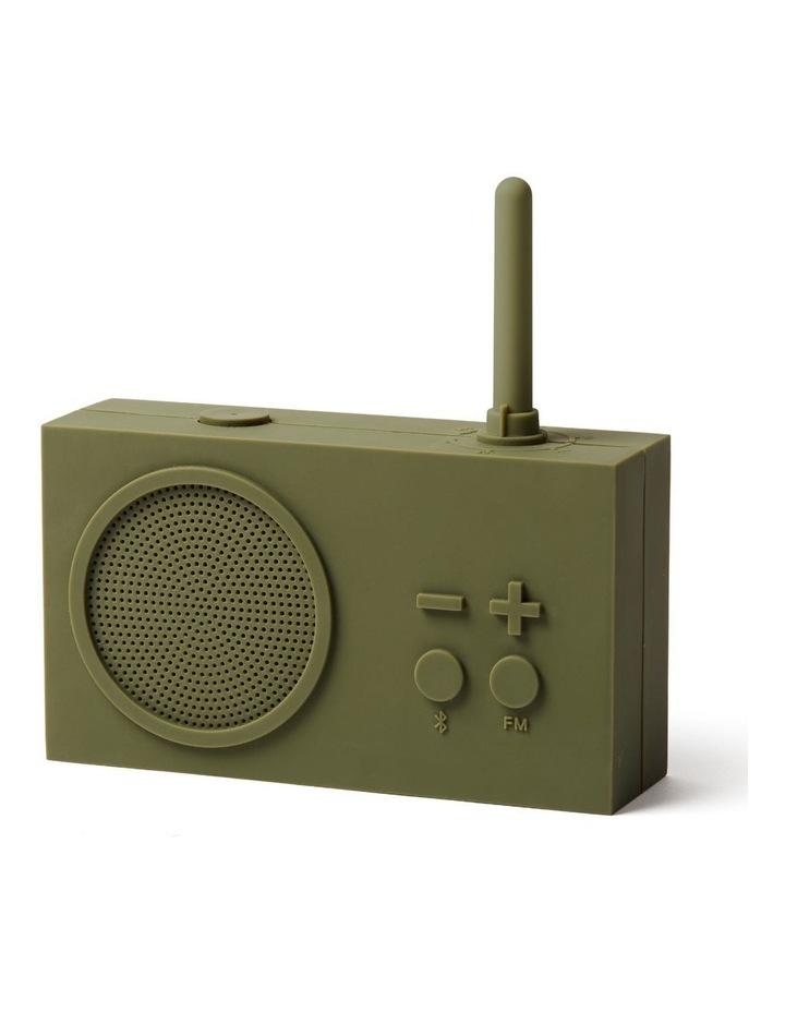 Tykho 3 Khaki FM Radio 3W Bluetooth Speaker image 2