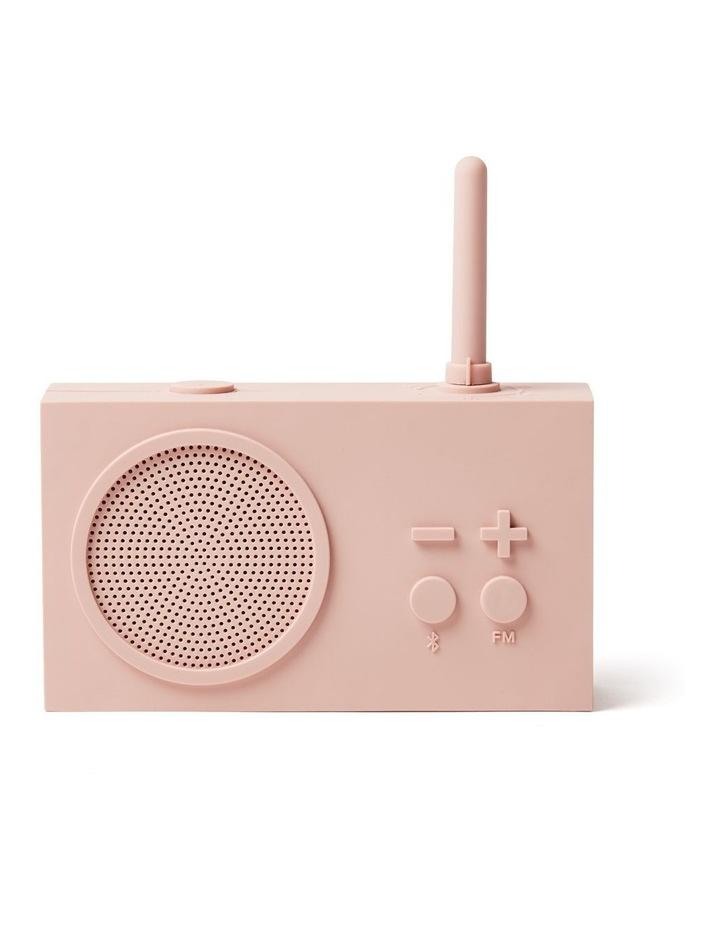 Tykho 3 FM Radio 3W Bluetooth Speaker Pink image 1