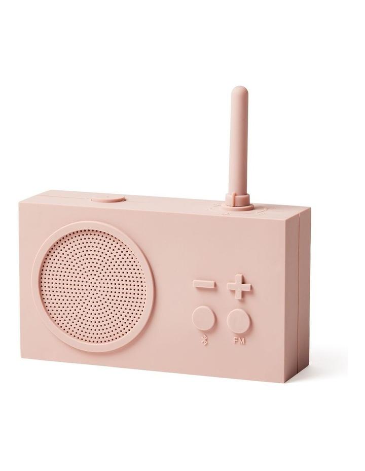 Tykho 3 FM Radio 3W Bluetooth Speaker Pink image 2