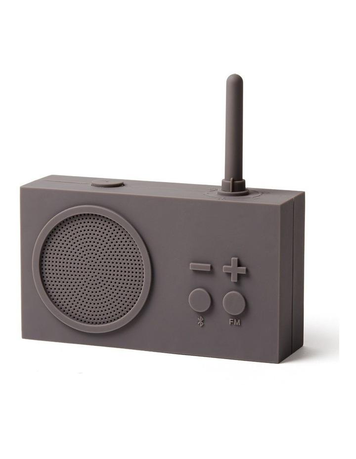 Tykho 3 Taupe Grey FM Radio 3W Bluetooth Speaker image 2