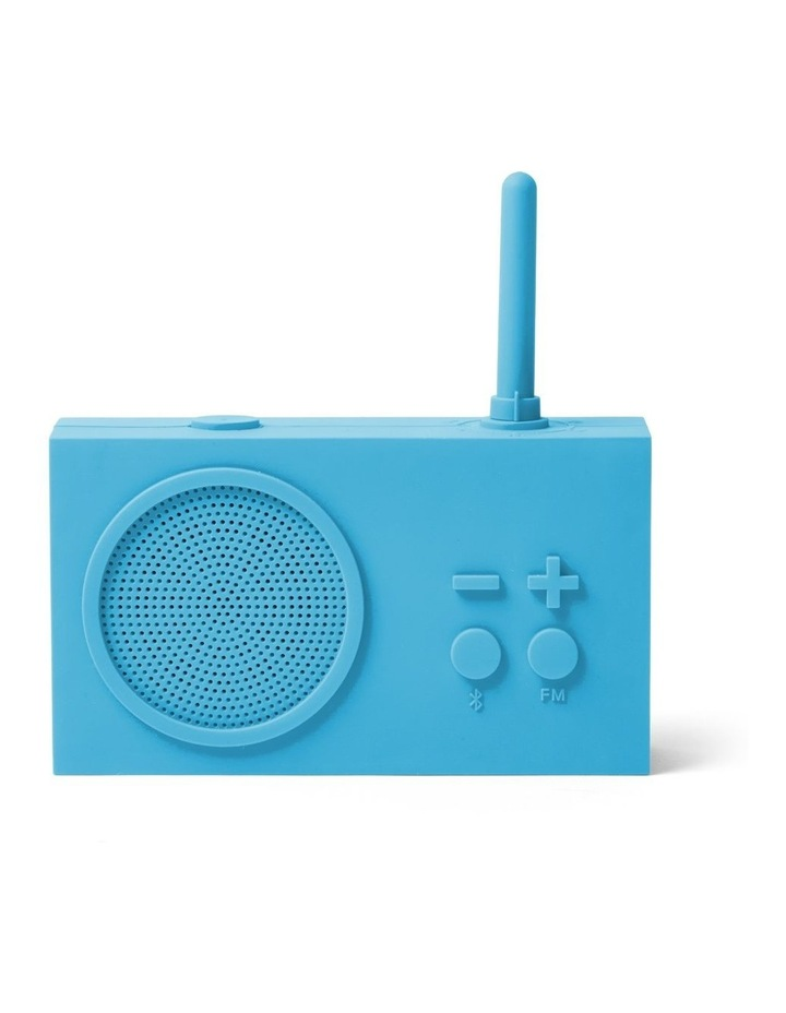 Tykho 3 Turquoise FM Radio 3W Bluetooth Speaker image 1