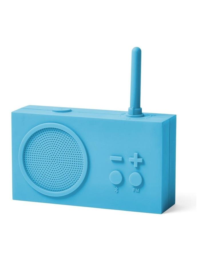 Tykho 3 Turquoise FM Radio 3W Bluetooth Speaker image 2