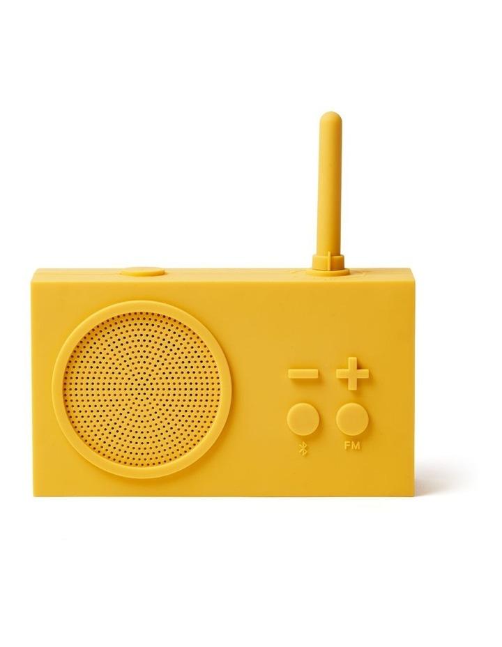 Tykho 3 Yellow FM Radio 3W Bluetooth Speaker image 1