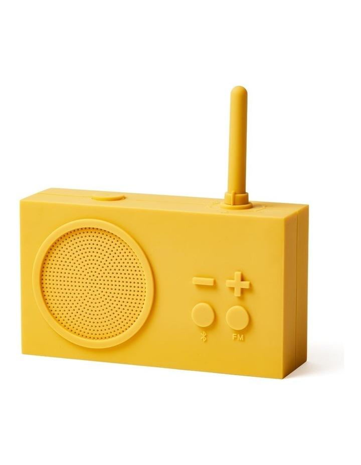 Tykho 3 Yellow FM Radio 3W Bluetooth Speaker image 2