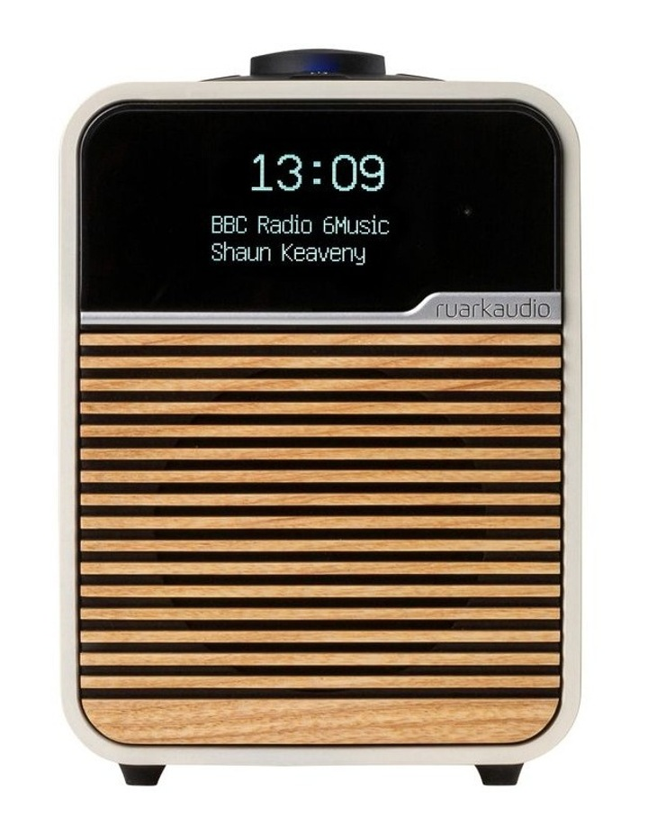 R1 Mk4 Deluxe Bluetooth Radio Light Cream image 1