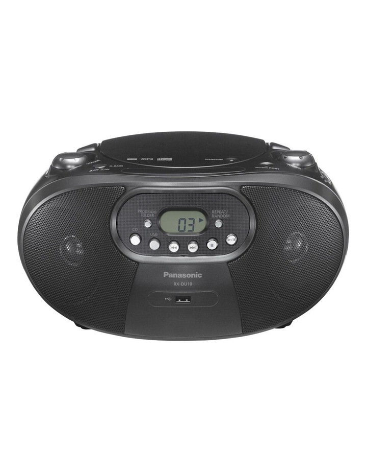 Portable CD Radio RX-DU10GN-K image 1