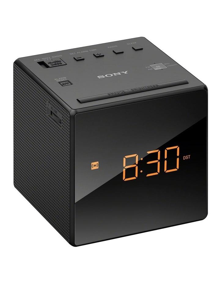 Clock Radio Black ICFC1B image 1