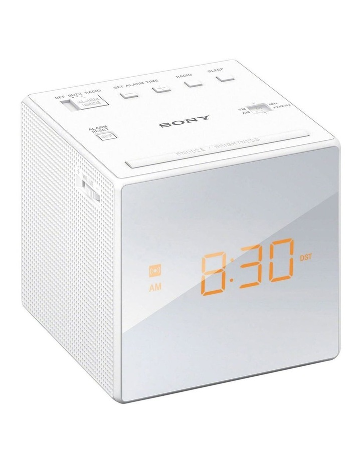 Alarm Clock Radio - White image 1