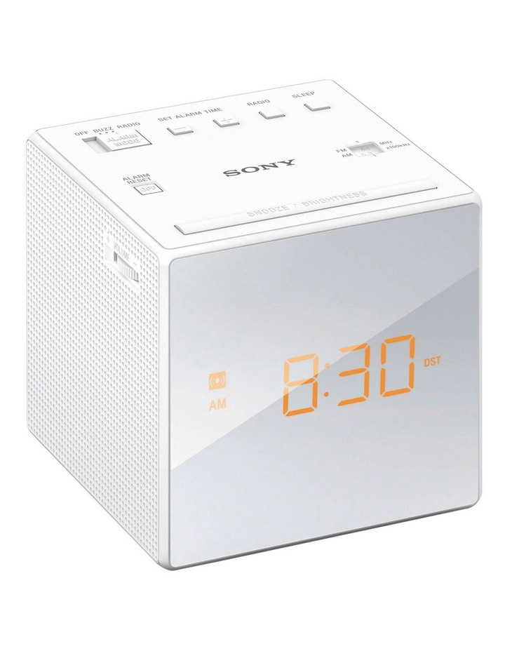 Sony Alarm Clock Radio - White