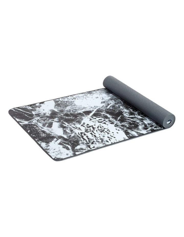 6mm Two Sided Yoga Mat With Sling - Dark Marble image 2
