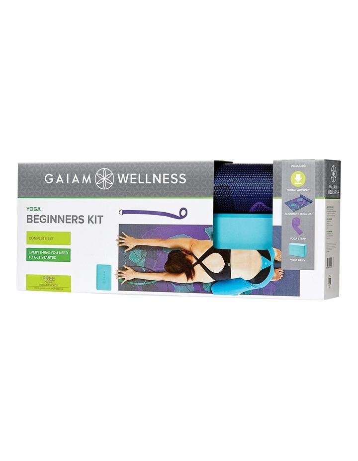 Wellness Yoga Beginners Kit - Purple image 1