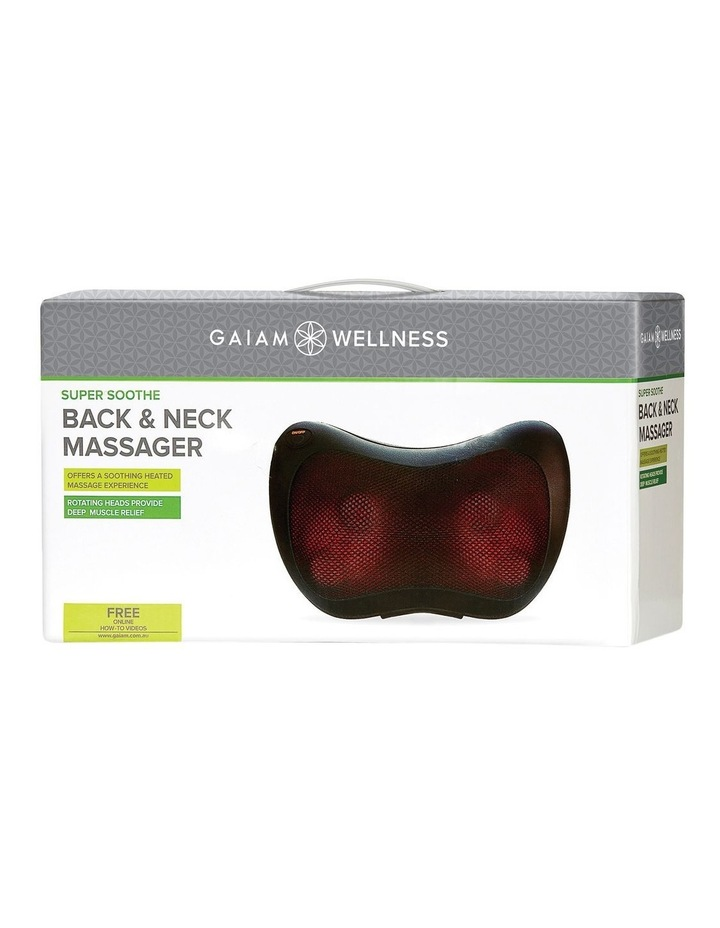 Wellness Lumber/Back Massager with Adaptor image 1