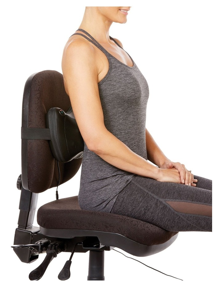 Wellness Lumber/Back Massager with Adaptor image 3