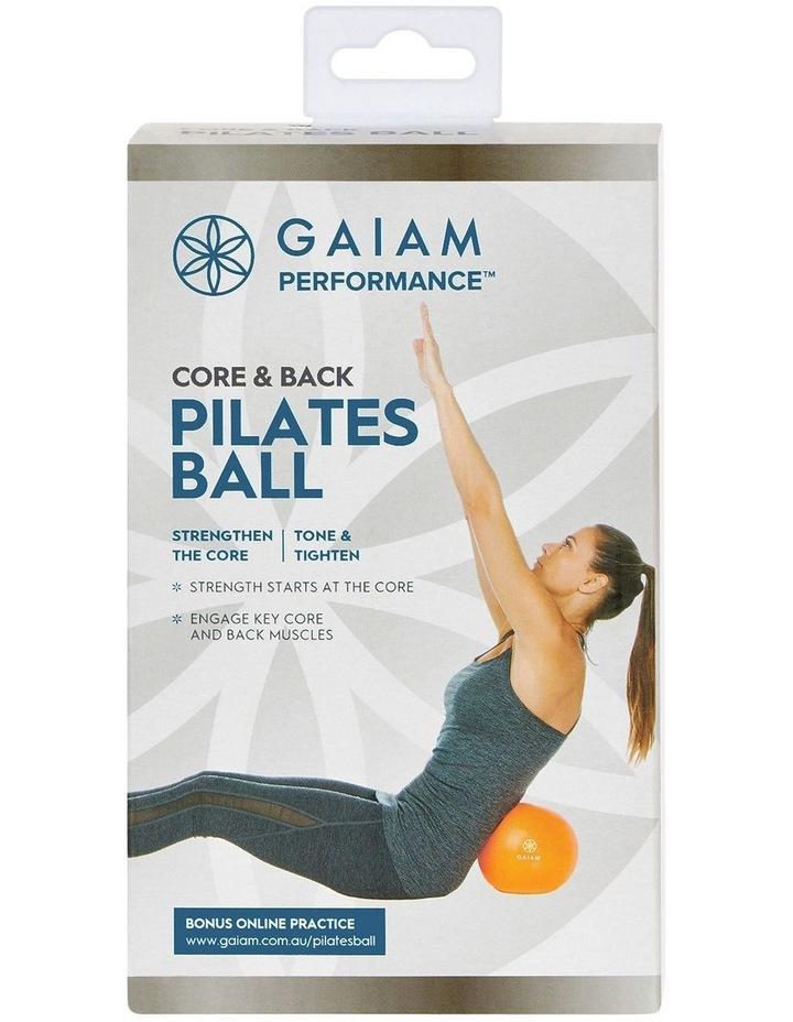 Pilates Ball in Orange image 3