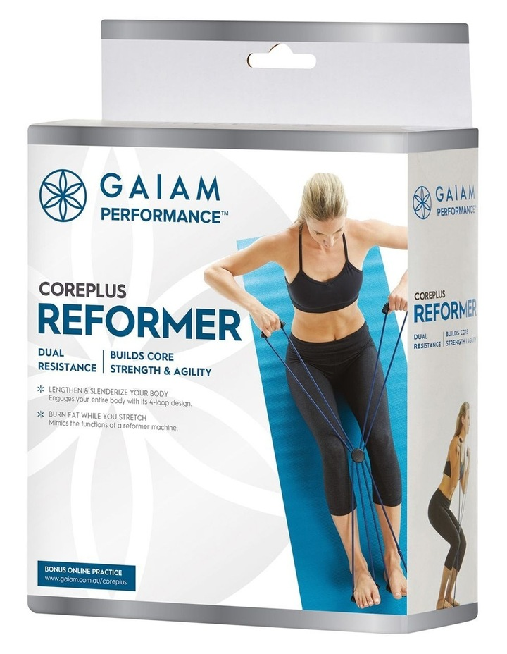 Coreplus Reformer Four Loop Resistance Band in Navy image 1