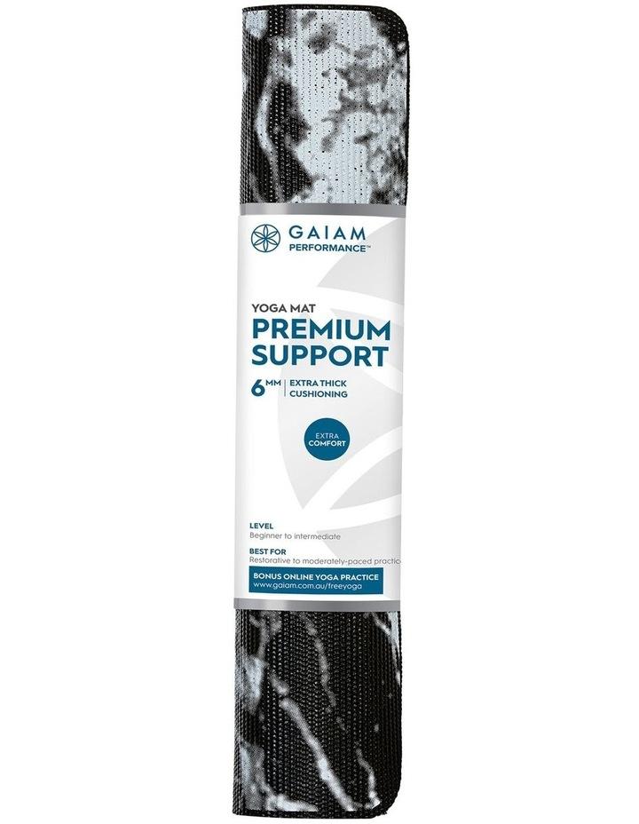 Premium Support 6mm Yoga Mat - Marble image 1