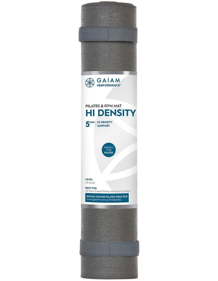 Hi-Density Floor/Pilates 5mm Mat in Grey image 1