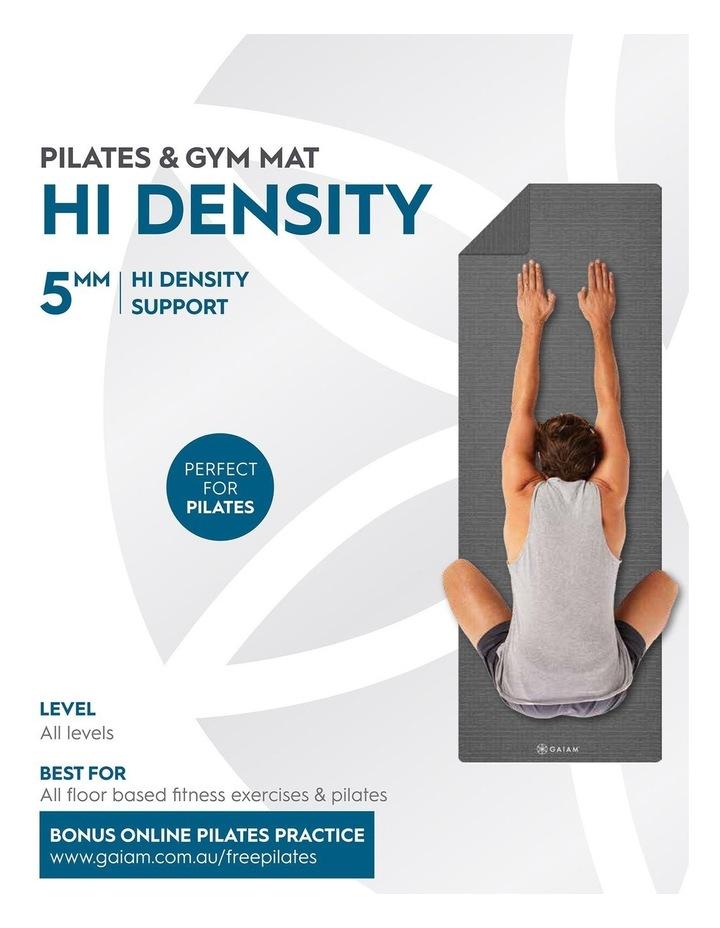 Hi-Density Floor/Pilates 5mm Mat in Grey image 5